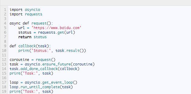 Python干货| 什么是异步协程,如何使用(二)-芝麻软件