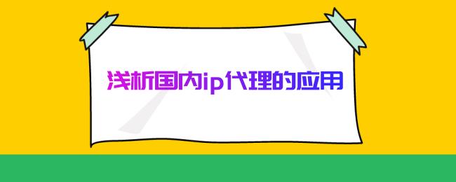 浅析国内ip代理的应用.png