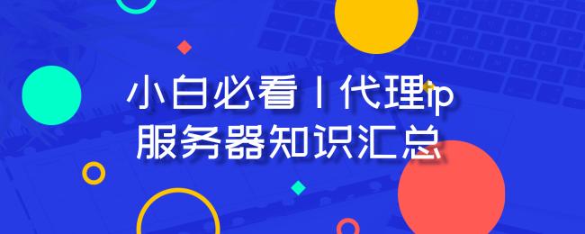 小白必看 _ 代理ip服务器知识汇总.png