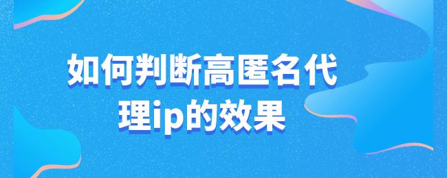 如何判断高匿名代理ip的效果 (1).png