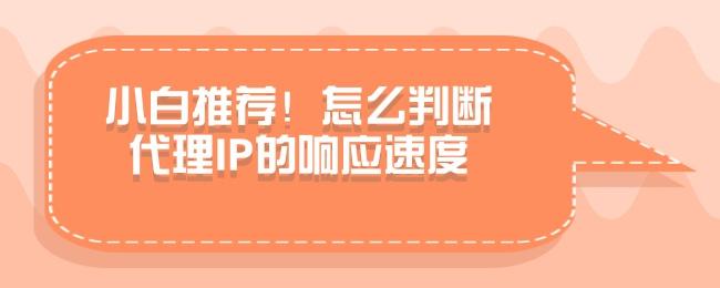 小白推荐!怎么判断代理IP的响应速度.jpg